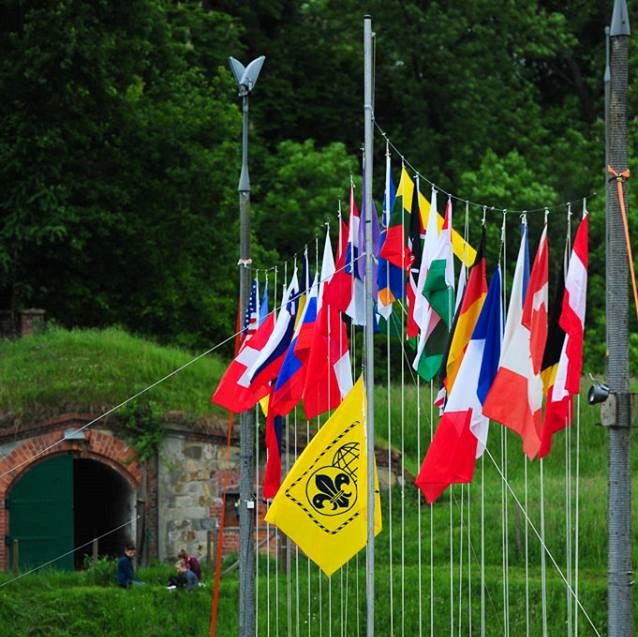 Intercamp international Flags